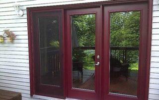 Patio and garden door installation